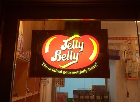 Jelly BellyジェリーベリージェリービーンズライトサインビンテージアメリカMADE IN USAアンティークライトサイン60s70s80s店舗用ライト非売品The original gourmet jelly bean2.jpg