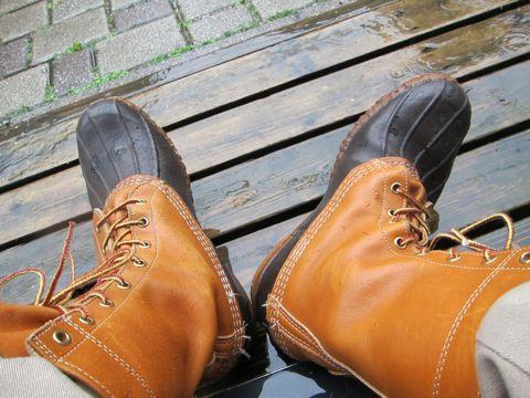 LLBean Bean Boots ビーンブーツ LLビーン 雨用ブーツ レインブーツ アメカジ 古着 ヴィンテージ ビンテージ JANSPORT MADE IN USA アメリカ製 80s 70s 1.jpg
