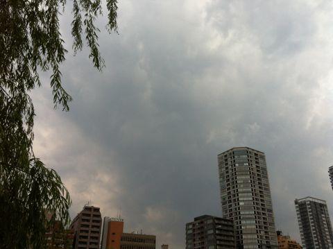 【東京地方】今夜は、雨で夜遅くには曇りとなりますが、夜遅くまで雷雨となる所があるでしょう。明日は、曇りで朝晩を中心に雨の降る所がある見込みです。2.jpg