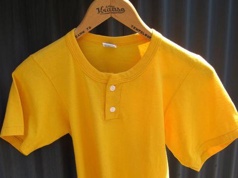 RUSSELL ラッセル ヘンリーネックTシャツ MADE IN USA Sサイズ サイズ34 サイズ36 アメリカ製 USA製 ビンテージ ヴィンテージ 古着 80s 80年代 アメカジ 1.jpg