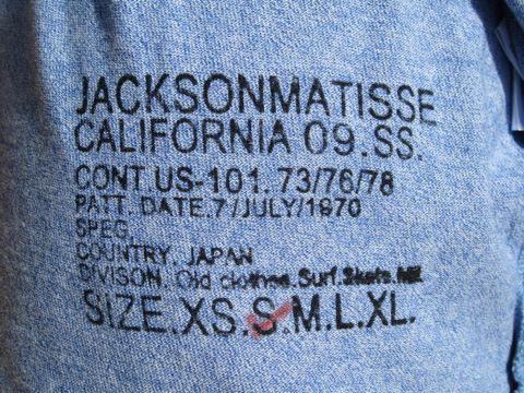 JACKSON MATISSE ジャクソンマティス 霜降りポケットTシャツ ポケT MADE IN JAPAN ジャクソンマティス 横田 JACKSON MATISSE Sサイズ ヴィンテージ 古着 アメカジ 4.jpg