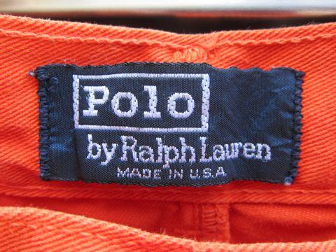 POLO Ralph Lauren MADE IN USA ラルフローレン チノショートパンツ アメリカ製 USA製 ビンテージ 古着 ヴィンテージ アメカジ F&E ラギット ポロ ラルフ 2.jpg