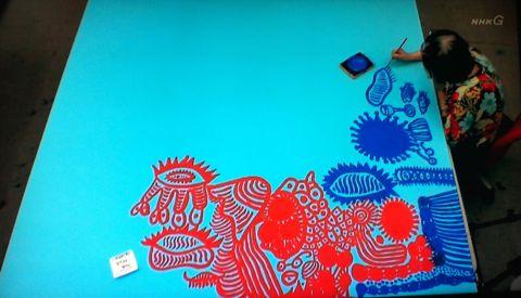 草間彌生 NHKスペシャル 水玉の女王草間彌生の全力疾走 立花ハジメ バンビ 草間彌生 ルイヴィトン 草間彌生 水玉 草間彌生 かぼちゃ Kusama Yayoi LOUIS VUITTON 3.jpg