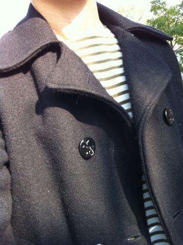 SPIEWAKのPコート 希少サイズ 34 SPIEWAK スピワック 軍モノ アメリカを代表する老舗のミリタリーブランド アイザック・スピワック サープラス・メーカー.jpg