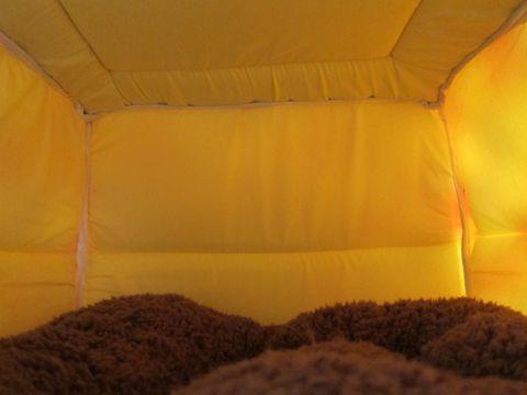 犬用ベッド 犬用カドラー 2WAYカドラー ドーム型 かまくら型 犬用ラウンドベッド かわいい犬用ベッド フントヒュッテ hundehutte 9.jpg