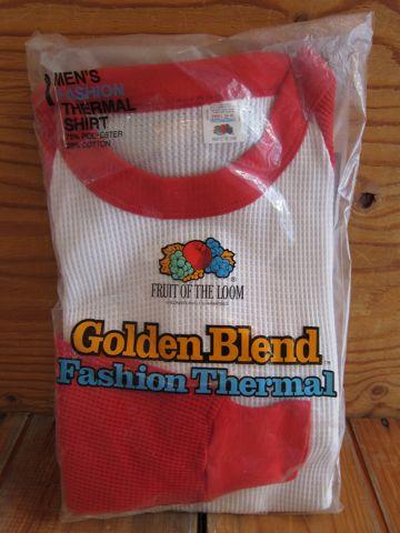 Golden Blend FRUIT OF THE LOOM サーマル ビンテージサーマル ヴィンテージサーマル MADE IN USA アメリカ製 USA製 フルーツ・オブ・ザ・ルーム デッドストック 1.jpg