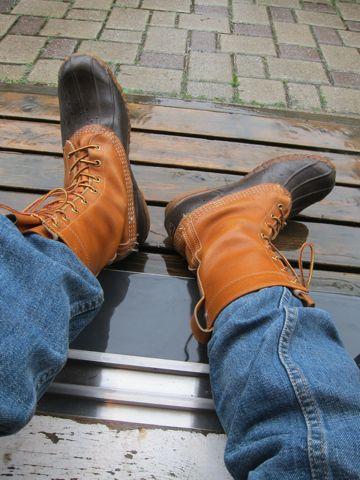 LLBean Bean Boots ビーンブーツ LLビーン 雨用ブーツ レインブーツ アメカジ 古着 ヴィンテージ ビンテージ MADE IN USA アメリカ製 米国製 80s 70s.jpg