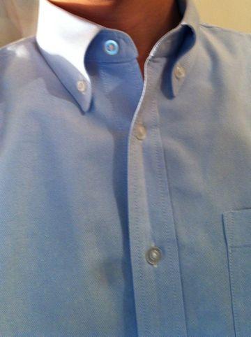 シャツ Yシャツ BDシャツ ボタンダウンシャツ シャツ コーデ 鎌倉シャツ ラルフローレン シャツ シャツ 着こなし シャツのボタンはどこまで開けていいかTPO.jpg
