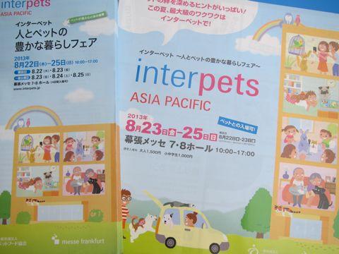 Interpets-人とペットの豊かな暮らしフェア インターペット 幕張メッセ 犬イベント わんこイベント ホリプロ アイドルドッグjp モデル犬 2.jpg