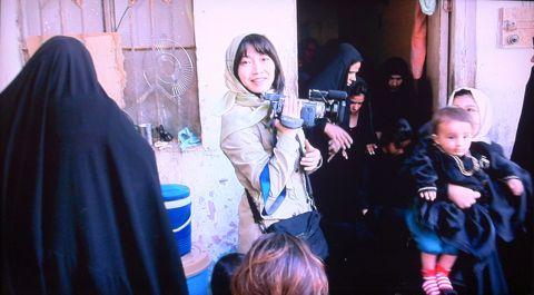 山本美香 ジャーナリスト 「戦場にも普通の人々の暮らしがあることを知ってほしい」 NHK BS1スペシャル「それでもジャーナリストは戦場に立つ」 シリアの内戦 2.jpg