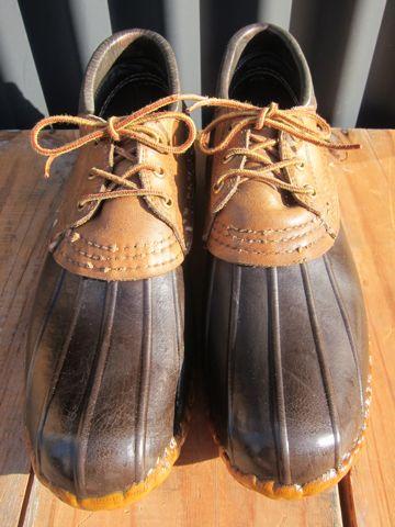 LLBean Bean Boots ビーンブーツ ショート ガムシューズ LLビーン 雨用ブーツ レインブーツ ヴィンテージ ビンテージ MADE IN USA アメリカ製 USA製 1.jpg