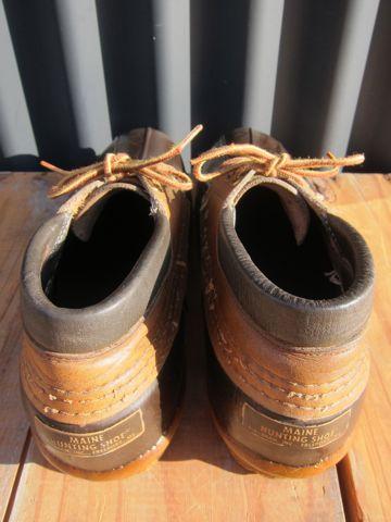 LLBean Bean Boots ビーンブーツ ショート ガムシューズ LLビーン 雨用ブーツ レインブーツ ヴィンテージ ビンテージ MADE IN USA アメリカ製 USA製 4.jpg