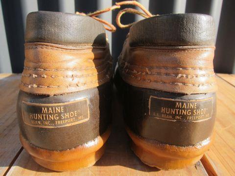 LLBean Bean Boots ビーンブーツ ショート ガムシューズ LLビーン 雨用ブーツ レインブーツ ヴィンテージ ビンテージ MADE IN USA アメリカ製 USA製 5.jpg