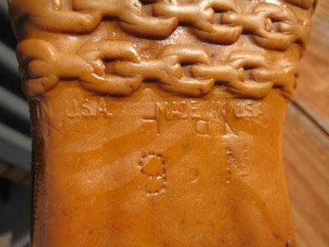 LLBean Bean Boots ビーンブーツ ショート ガムシューズ LLビーン 雨用ブーツ レインブーツ ヴィンテージ ビンテージ MADE IN USA アメリカ製 USA製 6.jpg