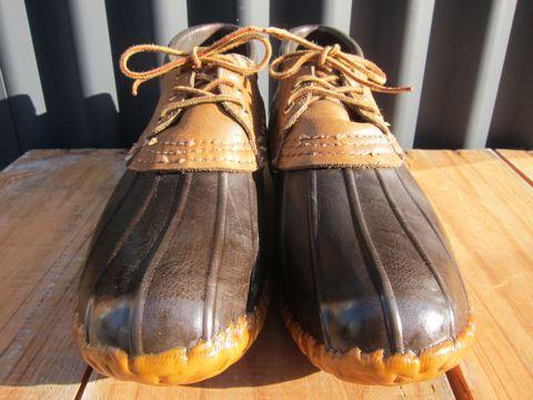 LLBean Bean Boots ビーンブーツ ショート ガムシューズ LLビーン 雨用ブーツ レインブーツ ヴィンテージ ビンテージ MADE IN USA アメリカ製 USA製 7.jpg