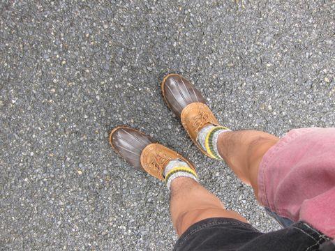 LLBean Bean Boots ビーンブーツ ショート ガムシューズ LLビーン 雨用ブーツ レインブーツ ヴィンテージ ビンテージ MADE IN USA アメリカ製 USA製 9.jpg