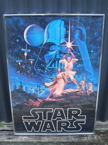 STAR WARS ヴィンテージポスター オリジナルポスター 1977 TWENTIETH CENTURY FOX FILM CORP 21世紀FOX スター・ウォーズ ダース・ベイダー ジョージ・ルーカス.jpg
