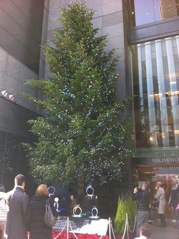 クリスマスツリー MIKIMOTO 銀座 ミキモトジャンボクリスマスツリー イルミネーション特集2013-2014 クリスマスデート 銀座 ミキモトのクリスマスツリー2013 GINZA 1.jpg