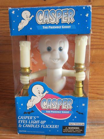 キャスパー フィギュア キャンドルライト ビンテージ 当時 オリジナルグッズ オフィシャルグッズ CASPER THE FRIENDLY GHOST USA製 アメリカ おもちゃ 1.jpg