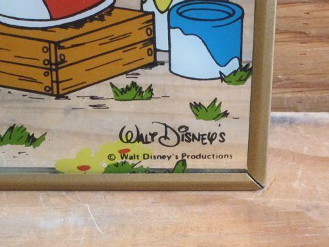 ミッキーマウス ディズニー ビンテージ 当時物 ミラー パブミラー ウォールミラー 壁掛けミラー MICKEY MOUSE Walt Disneys Productions ウォルト・ディズニー 2.jpg