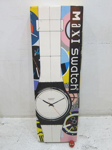 MAXI swatch マキシスウォッチ マキシ スウォッチ 全長2メートルにもなるマキシ(長い)ウォッチ レア 希少 スウォッチ 時計 壁掛け時計 ビンテージ ウォールクロック 2.jpg