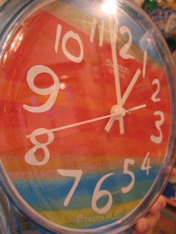 MAXI swatch マキシスウォッチ マキシ スウォッチ 全長2メートルにもなるマキシ(長い)ウォッチ レア 希少 スウォッチ 時計 壁掛け時計 ビンテージ ウォールクロック 6.jpg