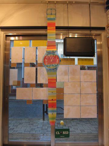 MAXI swatch マキシスウォッチ マキシ スウォッチ 全長2メートルにもなるマキシ(長い)ウォッチ レア 希少 スウォッチ 時計 壁掛け時計 ビンテージ ウォールクロック 7.jpg