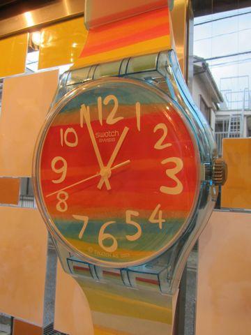 MAXI swatch マキシスウォッチ マキシ スウォッチ 全長2メートルにもなるマキシ(長い)ウォッチ レア 希少 スウォッチ 時計 壁掛け時計 ビンテージ ウォールクロック 8.jpg