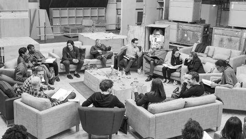 Star Wars Episode VII J・J・エイブラムス監督 スター・ウォーズ エピソードVII スター・ウォーズの日 ハリソン・フォード キャリー・フィッシャー マーク・ハミル 2.jpg