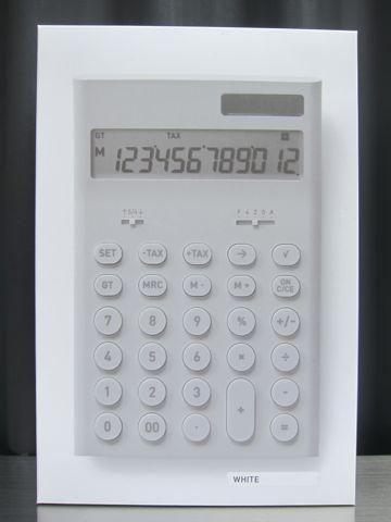 ±0 ±0 プラスマイナスゼロ 深澤直人 深澤直人デザイン 「ありそうでなかったモノ」 電卓 電子計算機 ±0 store 通販 オンラインショップ 3.jpg