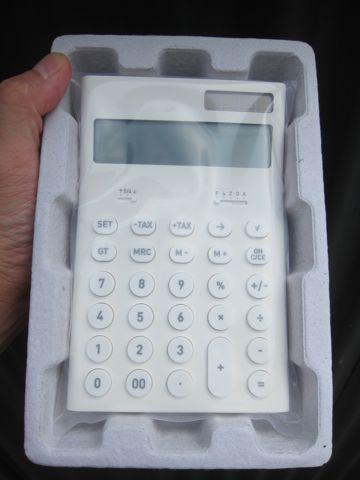 ±0 ±0 プラスマイナスゼロ 深澤直人 深澤直人デザイン 「ありそうでなかったモノ」 電卓 電子計算機 ±0 store 通販 オンラインショップ 4.jpg