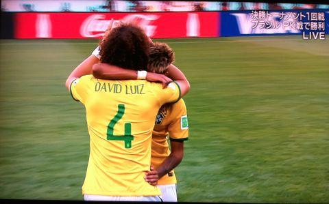 FIFAワールドカップブラジル2014 決勝トーナメント1回戦 ブラジル vs チリ ネイマール ジュリオ・セザール ダビド・ルイス フッキ サンチェス メデル5.jpg