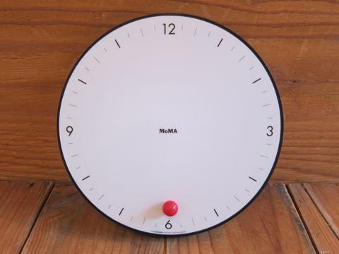 MoMA TimeSphere Clock by Gideon Dagan ギデオン・ダガン デザイン インダストリアルデザイン 工業デザイン 掛け時計 アメリカ製 USA製 MADE IN USA 2.jpg