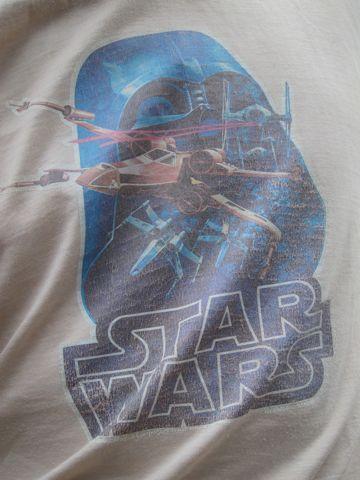 STAR WARS スター・ウォーズ ヴィンテージTシャツ オフィシャルTシャツ Xウイング 1980年代 80s ジョージ・ルーカス ダース・ベイダー USA製 MADE IN USA 2.jpg