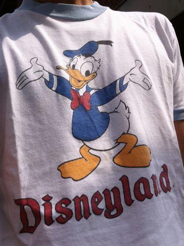 ディズニー ヴィンテージTシャツ ビンテージTシャツ ディズニーオフィシャル Disneyland Disney ドナルド ドナルドダック 70s 80s アメリカ製 USA製.jpg