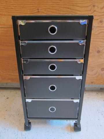 ガラス天板キャビネット キャビネット オフィス 家具 インテリア 書類整理 ファイル整理 A4サイズ 収納キャビネット ファイルワゴン デスク下ラック 1.jpg
