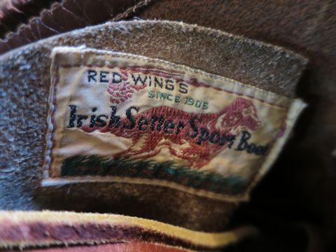 RED WINGS Irish Setter 877 50s 50年代製 レッドウイング アイリッシュセッター初期刺繍タグ 年代1954-58 生産国表記ナシ DU-FLEXソール ヴィンテージレッドウイング 4.jpg