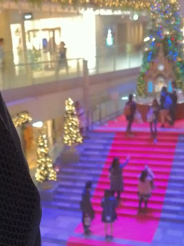 表参道ヒルズ クリスマスツリー 2014 OMOTESANDO HILLS CHRISTMAS 2014 with Mo�t & Chandon モエシャンドン ツリー点灯式 菜々緒 松島花 クリスマスイルミネーション 巨大ツリー 3.jpg