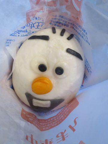 アナと雪の女王 オラフ/チョコまん ファミリーマート ファミマ 中華まん アナ雪 口どけの良い、しっとりなめらかなチョコクリームを包んだ中華まんです。 1.jpg
