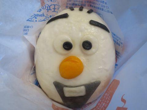 アナと雪の女王 オラフ/チョコまん ファミリーマート ファミマ 中華まん アナ雪 口どけの良い、しっとりなめらかなチョコクリームを包んだ中華まんです。 2.jpg