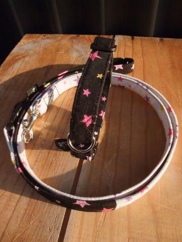 カラーリードハーネス犬用首輪ドッググッズ都内フントヒュッテオリジナルグッズ東京ヴィンテージファブリックビンテージ生地スター星柄生地STAR FRUITS4.jpg
