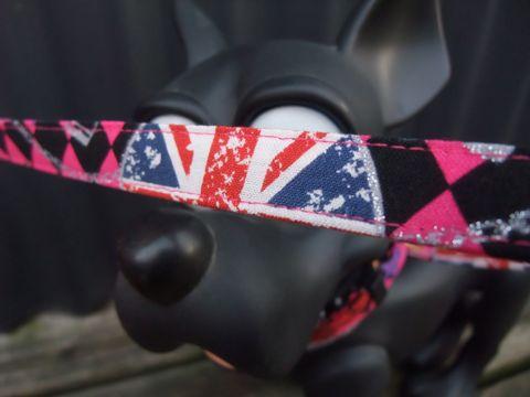 カラーリードハーネス犬用首輪ドッググッズ都内フントヒュッテオリジナルグッズ東京ヴィンテージファブリックビンテージ生地Sex Pistols - Anarchy In The UK 4.jpg