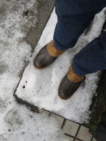 雪 東京 初雪 2015 天気予報 2015年1月30日 積もる 積雪 霙 みぞれ ミゾレ 雨 積もらなかった 電車 遅延 運行状況 LLBean Bean Boots ビーンブーツ LLビーン.jpg