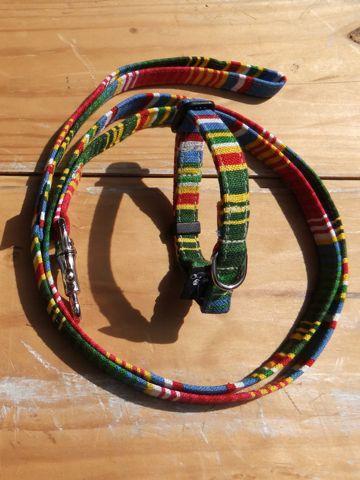 フントヒュッテオリジナル首輪カラーリードリーシュハーネス文京区hundehutte東京かわいい犬の首輪メキシコで最も有名な織物サラペサラッペ SARAPE Collar Leash Harness_2.jpg