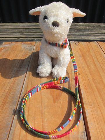 フントヒュッテオリジナル首輪カラーリードリーシュハーネス文京区hundehutte東京かわいい犬の首輪メキシコで最も有名な織物サラペサラッペ SARAPE Collar Leash Harness_3.jpg
