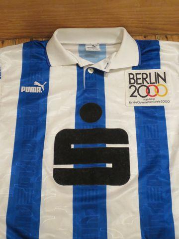 サッカー ユニフォーム プーマ PUMA 英国製 イギリス製 UK製 MADE IN UK Sparkasse ベルリン五輪招致キャンペーンのワッペン付き オリンピック BERLIN2000 5.jpg