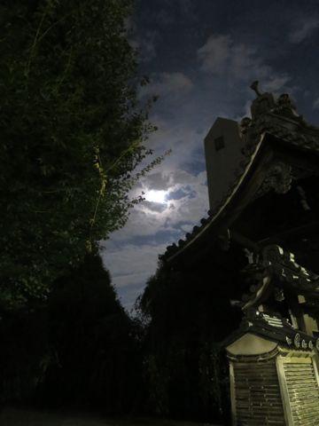 スーパームーン 2015年9月28日 1年のうちで月が地球に最も近づくタイミングと満月のタイミングが一致するため、普段より大きく、明るく見える。 画像 撮影 5.jpg