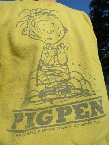 JACKSON MATISSEジャクソンマティスVintage Snoopyヴィンテージスウェット染込みプリントPIGPENリバースウィーブコットン100%貴重Sサイズ即完売アメカジ古着日本製made in japan1.jpg