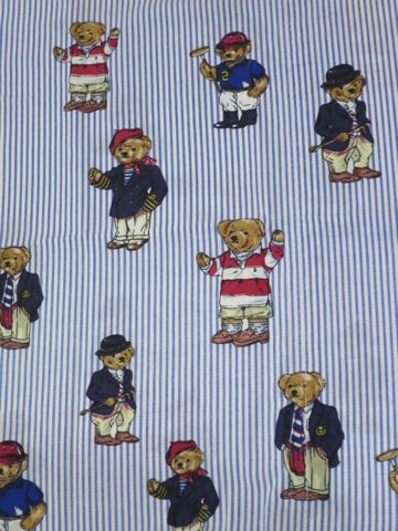 POLO BEAR ポロベアー POLO by Ralph Lauren ラルフローレン ポロ 枕カバ− レア 画像 USA製 MADE IN USA アメリカ製 米国製 ヴィンテージ デッドストック 1.jpg