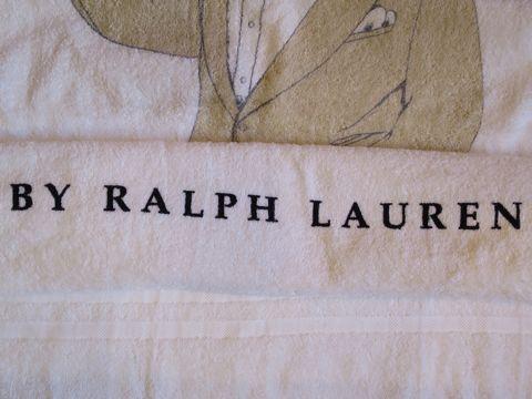 POLO BEAR ポロベアー POLO by Ralph Lauren ラルフローレン ビーチタオル ブランケット 画像 USA製 MADE IN USA アメリカ製 米国製 ヴィンテージ デッドストック 3.jpg